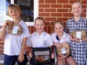 Freshwater Bay Primary School students love their healthy lunches