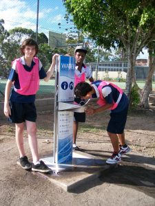 Kempsey High School new water filling station