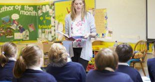 Teacher Teaching Lesson