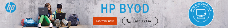 HP Website Title Banner