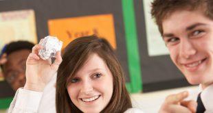 Teenage Students Misbehaving In Classroom
