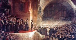 Who is portrayed as Australian? 'Opening of the first parliament' Tom Roberts c.1903. Wikipedia