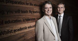 Professor John Hattie, Dean Field Rickards.