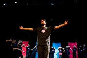 Holroyd High students performing in WOT Opera