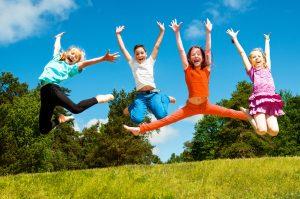 Keeping children active