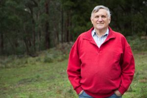 John Marsden, author and principal of Candlebark School