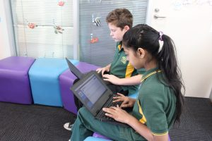 Tyers Primary students testing uEducateUs systems