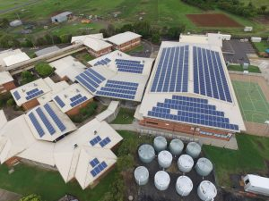 The GEM Energy installation at Bundaberg Christian College.