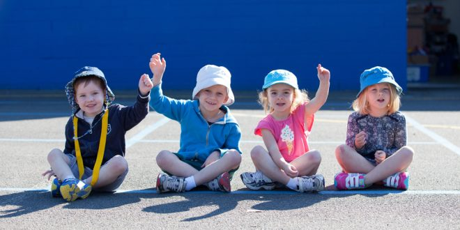 Programs with outdoor activities help kids stay fit and healthy