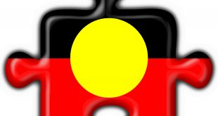 Aboriginal flag missing piece of the puzzle
