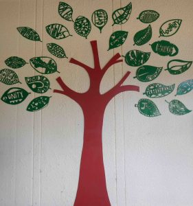 The virtual tree at Coolbinia Primary School