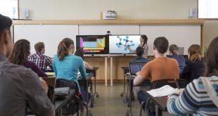 Interactive white board classroom