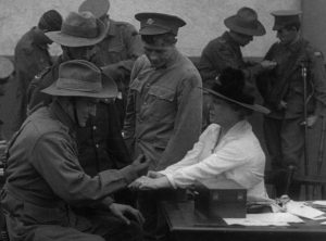 """With the Aid of the Red Cross."" Photo courtesy of National Film and Sound Archive of Australia"