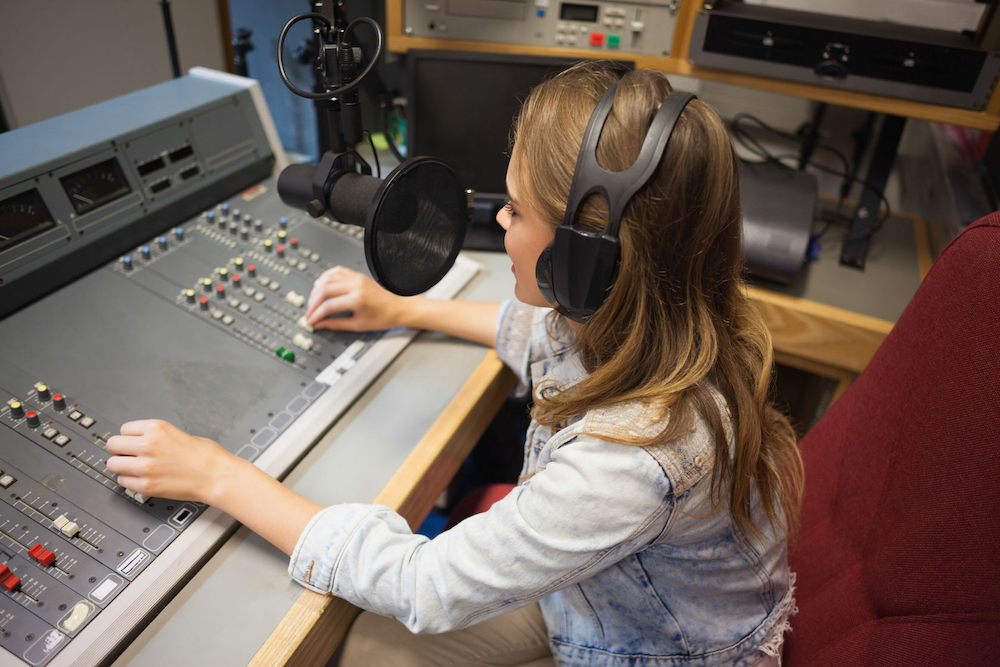 Photo of School radio: confidence, creativity and collaboration