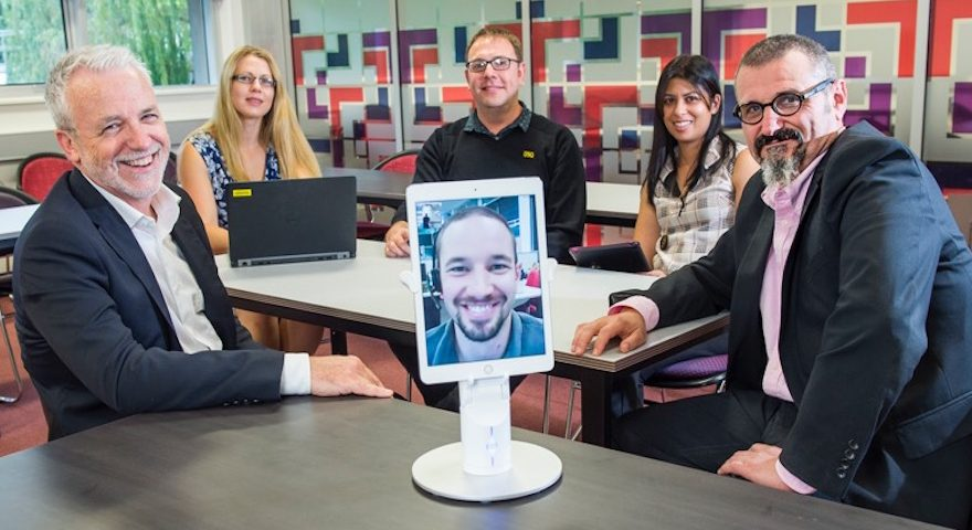 Photo of Robots offer 'telepresence' in classrooms of the future