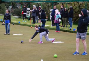 Lawn bowls at the Victorian Teachers Games