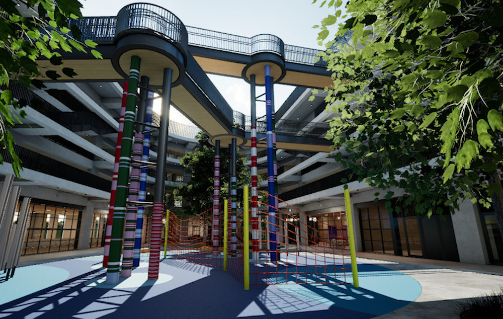 Photo of First high-rise school to open in virtual world