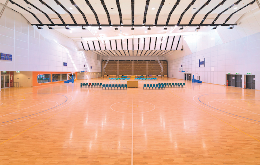 Photo of Sprung timber sports floors for sustained performance