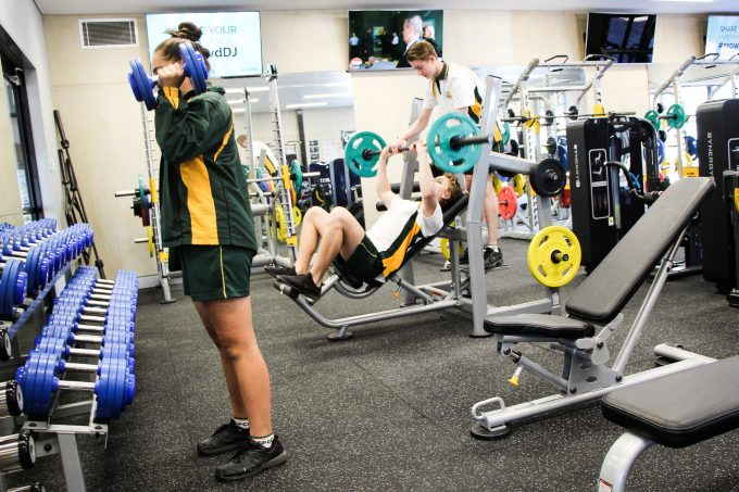 Photo of Top-of-the-line school gym helps students activate body, mind and soul