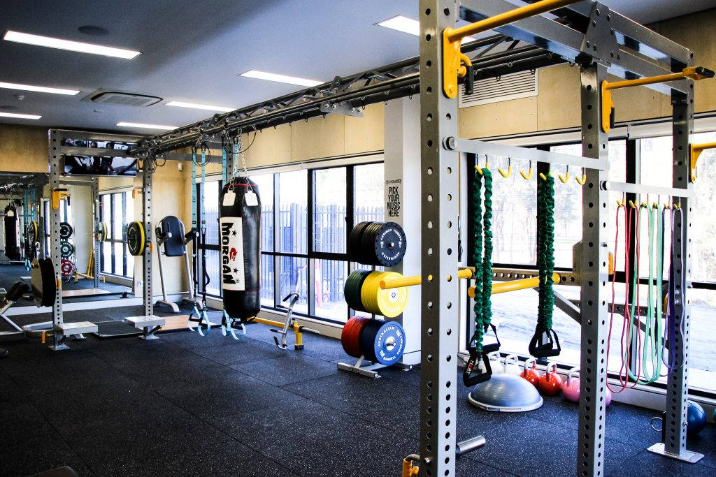 Top of the line school gym helps students activate body mind and