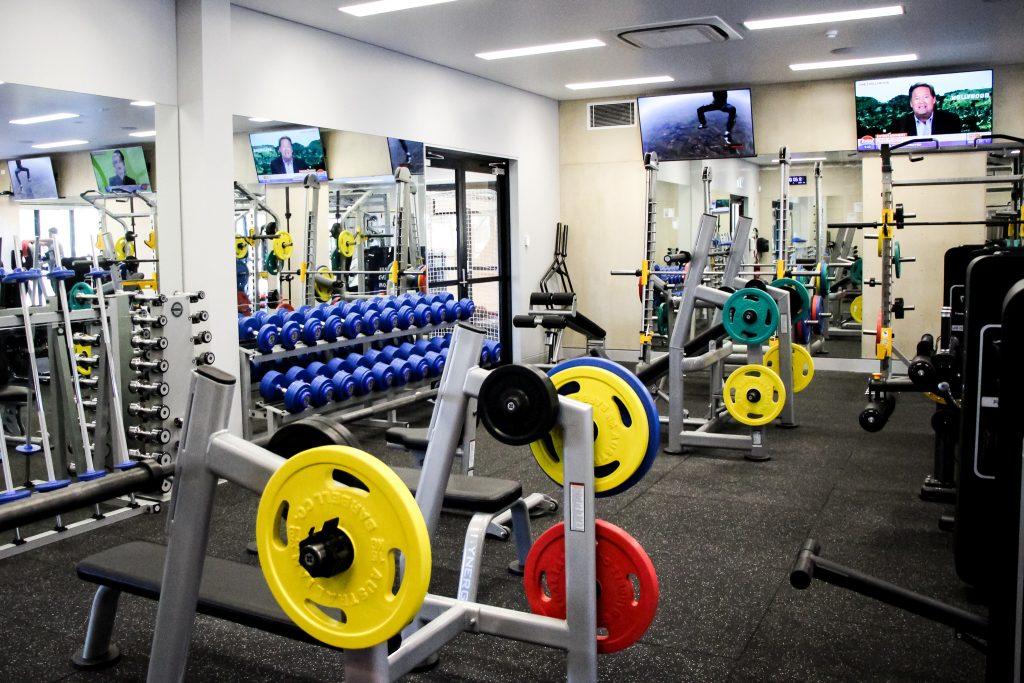 Faribault high school fielitz fitness center isg