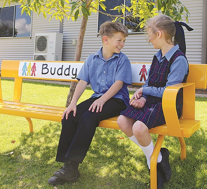 Photo of Using outdoor furniture in learning environments