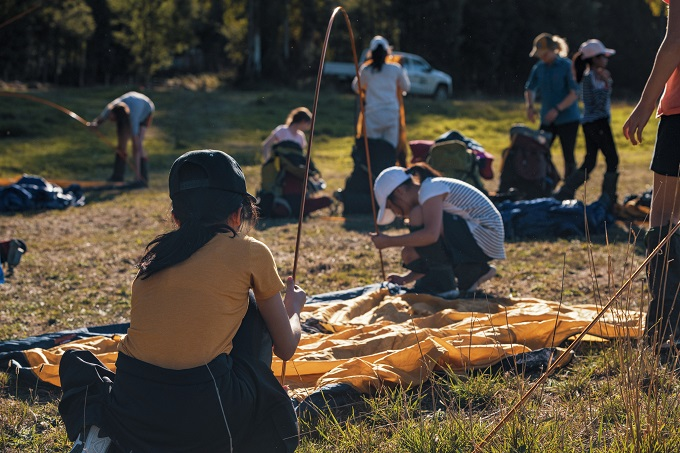Photo of Outdoor learning builds bonds with students