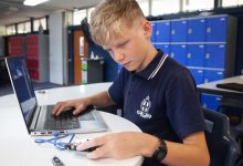 Photo of Year 7 student shares COVID learning with the world